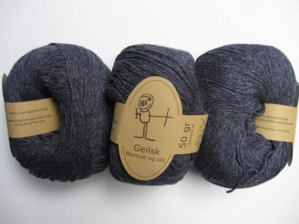 Geilsk Wolle Bomuld og uld 50g, Fb. C 17