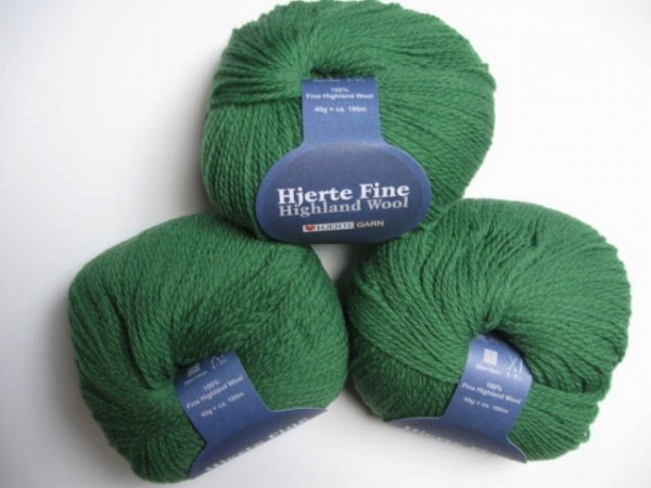 Hjertegarn Highland Wool 40g, Fb. 1355