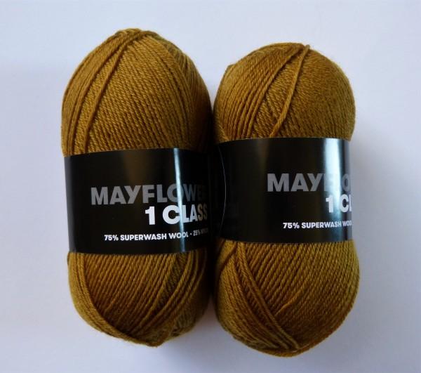 Mayflower Sockenwolle 1 Class uni 50g, Fb. 2086 Camel