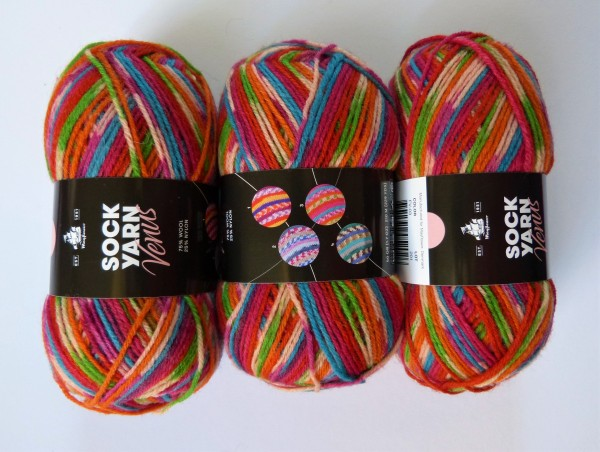 Mayflower Sockyarn Universe Venus 50g, Fb. FV-03