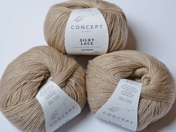 Katia Wolle Silky Lace 50g, Fb. 151