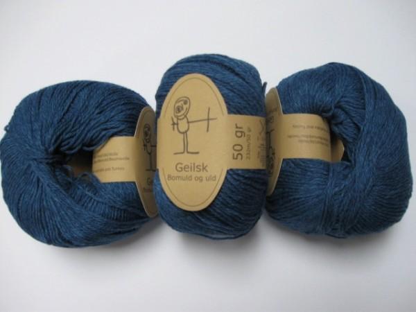 Geilsk Wolle Bomuld og uld 50g, Fb. C 33