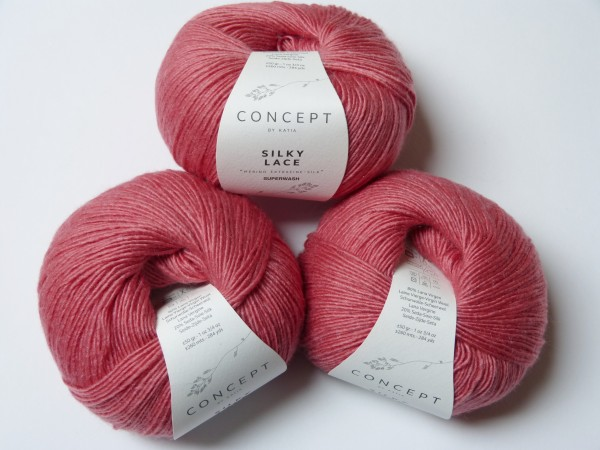 Katia Wolle Silky Lace 50g, Fb. 166