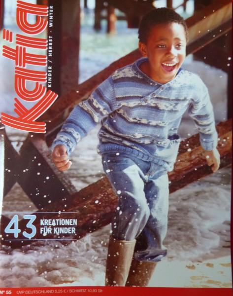 Strickheft von Katia Kinder Nr. 55