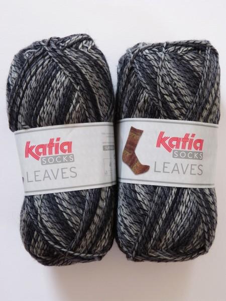 Katia Sockenwolle Leaves 150g, Fb. 65