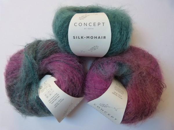 Katia Wolle Silk-Mohair 25g, Fb. 715