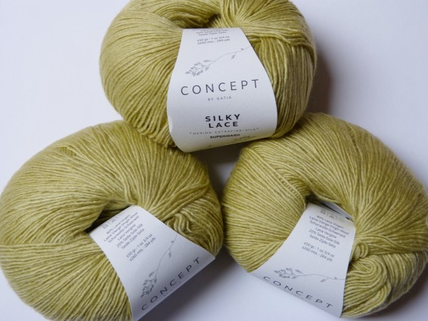 Katia Wolle Silky Lace 50g, Fb. 160